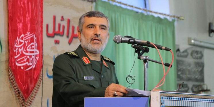 سردار حاجی زاده فرمانده نیروی هوا فضای سپاه