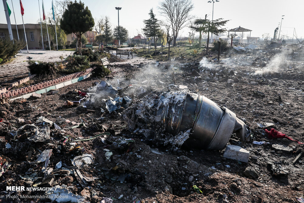 سقوط اوکراین هواپیما