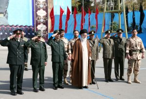 مراسم دانش آموختگی دانشجویان دانشگاههای افسری ارتش