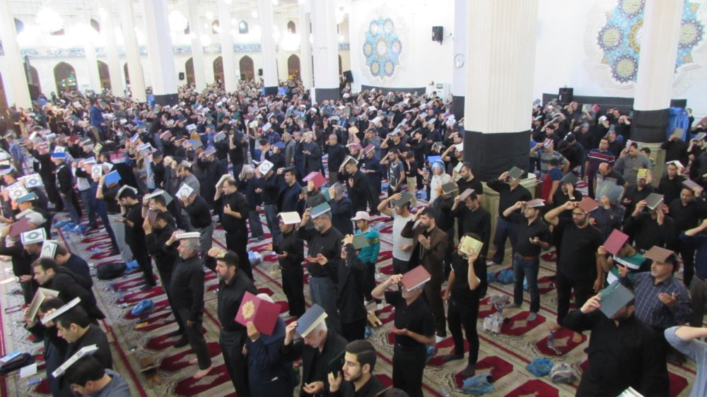 مراسم شب 21 رمضان بک یا الله