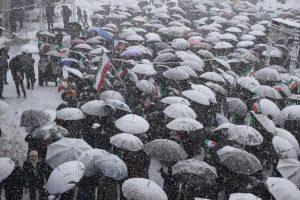 برف راهپیمایی 22 بهمن