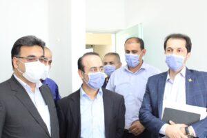 فرماندار فومن+رعایت پرتکل بهداشتی در کرونا