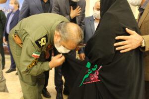 فرمانده نازجا+امیر حیدری+ مادر شهیدان امام پناهی