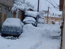 برف معابر+ماشین