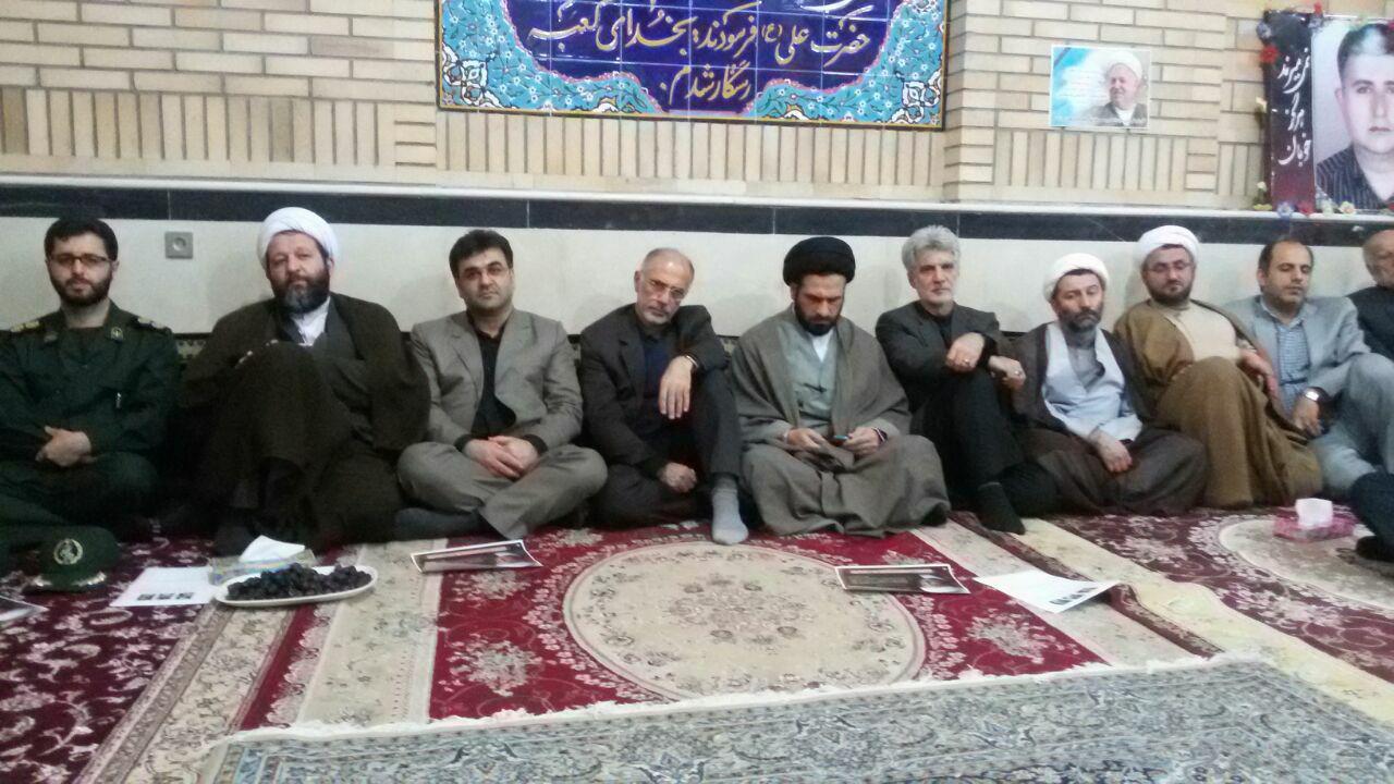 مراسم بزرگداشت آیت الله رفسنجانی با حضور مدیر کل سیاسی استانداری گیلان و خانم مدارایی درشهرستان شفت برگزار شد