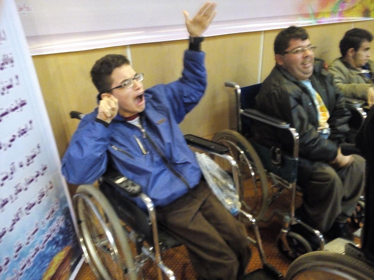 مارلیک ،نشان داد معلولان استان توانمندند نه معلول