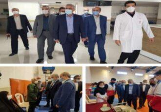 استاندار گیلان از طرحهای توسعه بهداشت و درمان و مراکز واکسیناسیون استان بازدید کرد