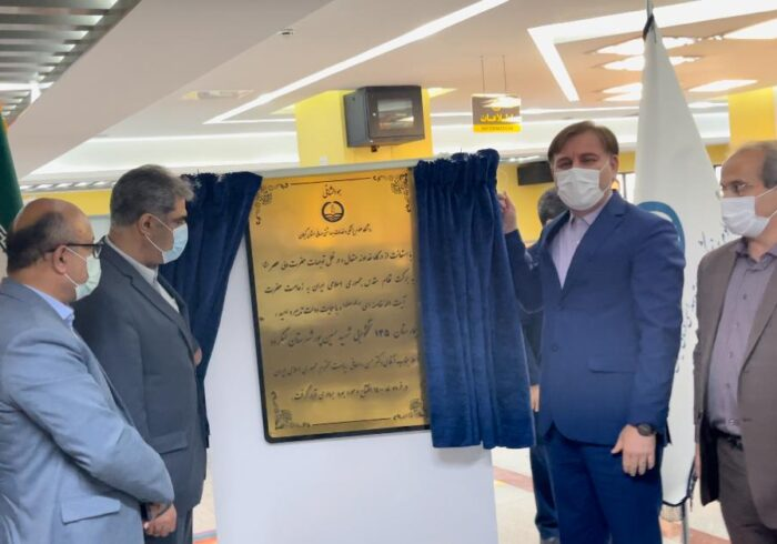 افتتاح بیمارستان ۱۳۵ تختخوابی شهید حسینپور لنگرود
