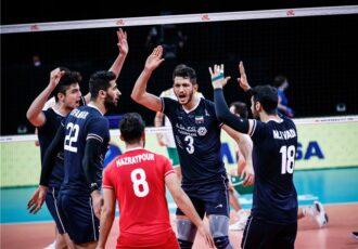برتری مطلق ایران مقابل بلغارستان/ هتتریک پیروزی شاگردان آلکنو در هفته دوم