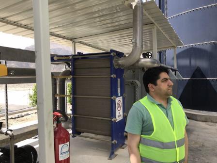 سفر دکتر ثابت قدم به عمان جهت بررسی پروژه تصفیه خانه شیرابه مسقط