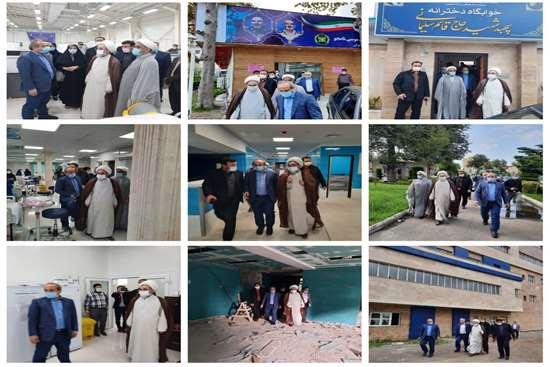 تلاشهای صورت گرفته در جهت بهبود و ارتقای زیرساخت های حوزه سلامت در استان مطلوب است