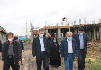 بازدید نماینده مردم رشت از پروژه های آموزشی و پرورشی شهر رشت