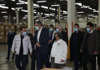 بازدید مدیرعامل و نایب رئیس هیأت مدیره شرکت دخانیات ایران از مجتمع گیلان