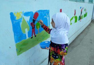 اجرای پویش ملی به رنگ مدرسه در گیلان