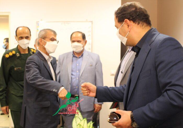 ارتش برای تجهیز بیمارستانهای لاهیجان پای کار آمد+تصاویر