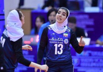 نگین شیرتری؛ بانوی ملی پوش گیلانی لژیونر جدید والیبال ایران