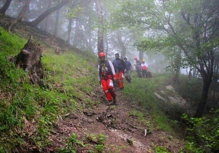 نجات ۴ گمشده در جنگل های رصوانشهر
