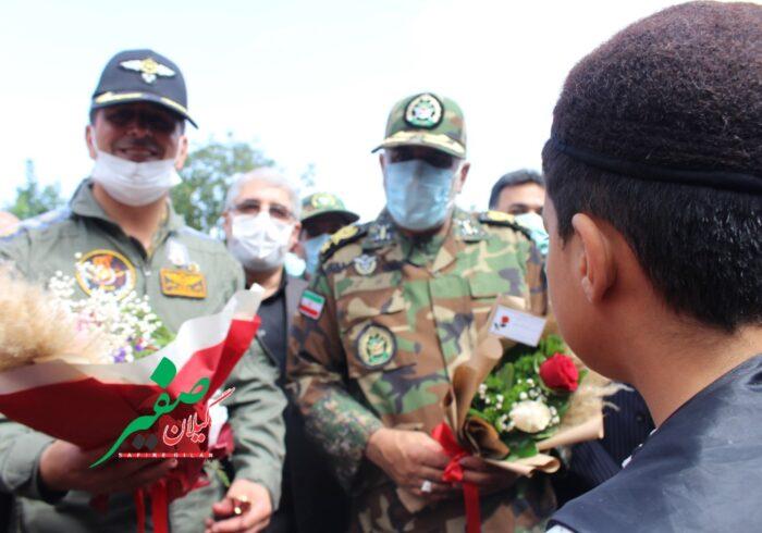افتتاح پروژههای سلامتمحور نیروی زمینی ارتش در گیلان به روایت تصویر