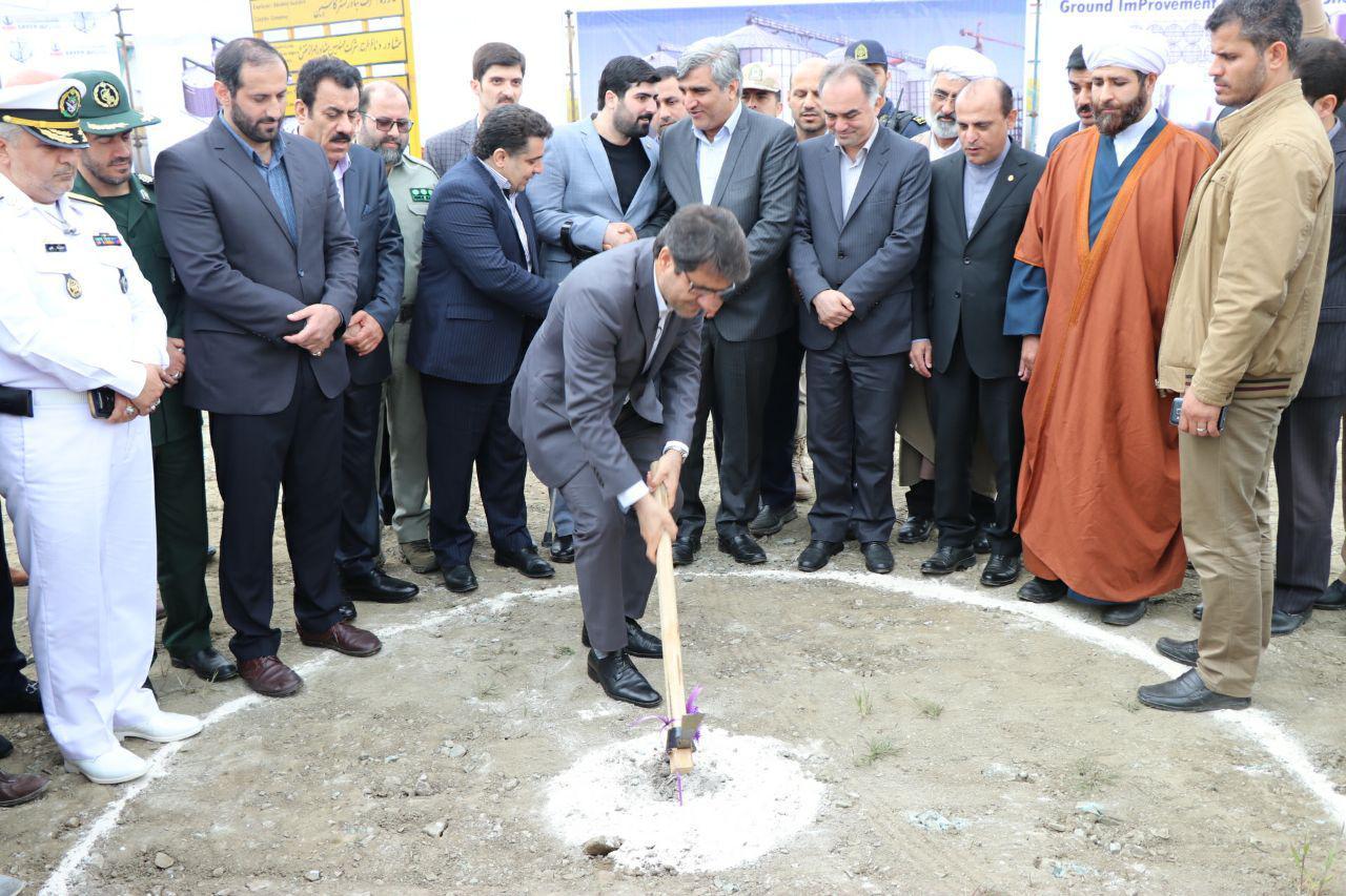 افتتاح و کلنگ زنی پروژه های منطقه ویژه اقتصادی بندر آستارا با حضور مسئولان کشوری و استاندار گیلان