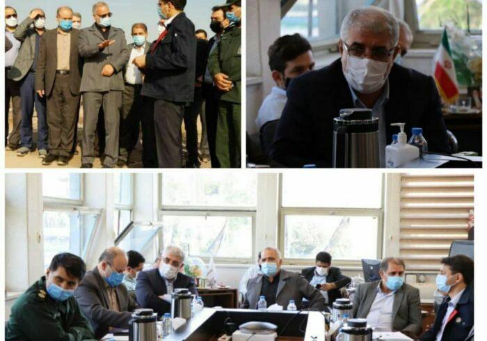 برگزاری جلسه کارگروه آب و انرژی شورای پدافند غیر عامل استان گیلان
