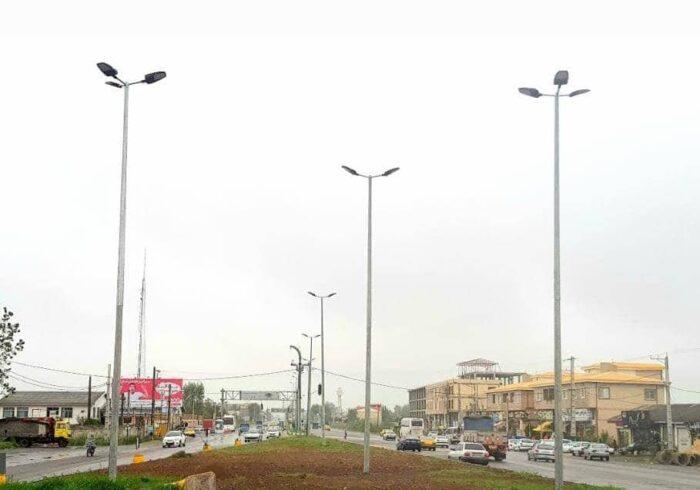 ۲۷ نقطه پرحادثه استان گیلان با سیستم روشنایی جدید تجهیز می شوند.