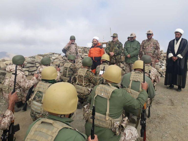 حضور رزمندگان لشکر ۱۶ قدس گیلان در مناظق عملیاتی شمالغرب کشور