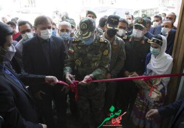 گزارش تصویری بهرهبرداری از بیمارستان پیشرفته تنفسی شهید نامجو در رشت با حضور فرمانده نزاجا
