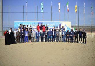شهرداری تهران قهرمان نهمین دوره رقابت های والیبال ساحلی شهرداری های کلان شهر در منطقه آزاد انزلی
