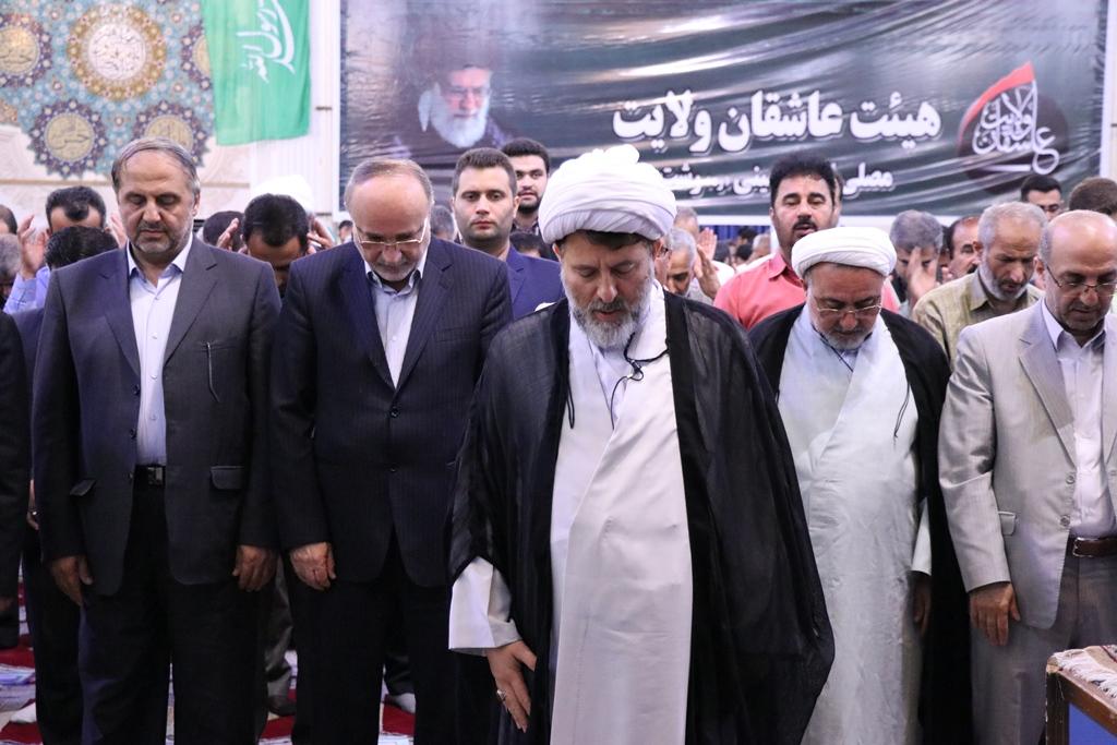 اقامه نماز با شکوه عید سعید فطر در رشت