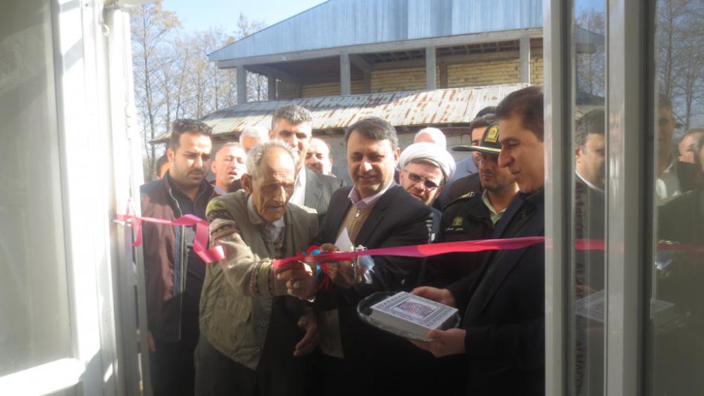 در ششمین روز از دهه فجر تعدادی پروژه عام المنفعه در شهرستان  صومعه سرا افتتاح شد