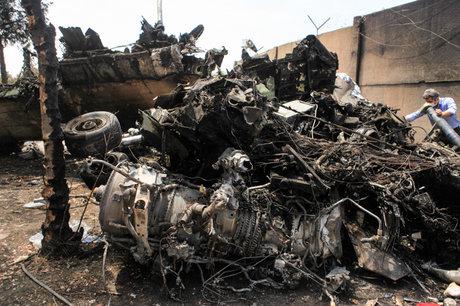 سقوط هواپیمای مسافربری در اصفهان / اعزام تیمهای واکنش سریع امدادی به محل حادثه