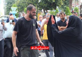 اجرای تئاتر خیابانی با شعار «نه به اعتیاد» در روزگار کرونایی در فومن+تصاویر