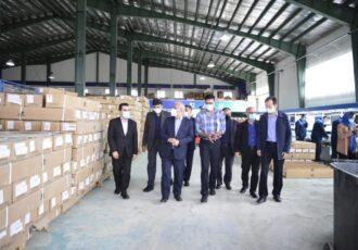 رفع موانع تولید از چند واحد تولیدی-صنعتی منطقه آزاد انزلی