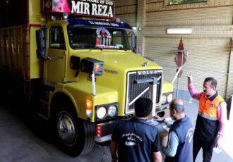 مراجعه ۱۴هزار و ۴۳۵ خودروهای سنگین به مراکز معاینه فنی خودروهای سنگین گیلان