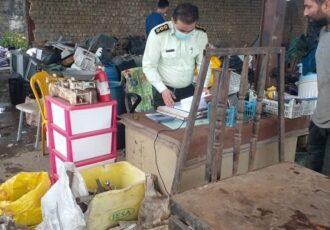 بازدید از مراکز خرید و فروش اسقاط ضایعاتی در شهرستان شفت
