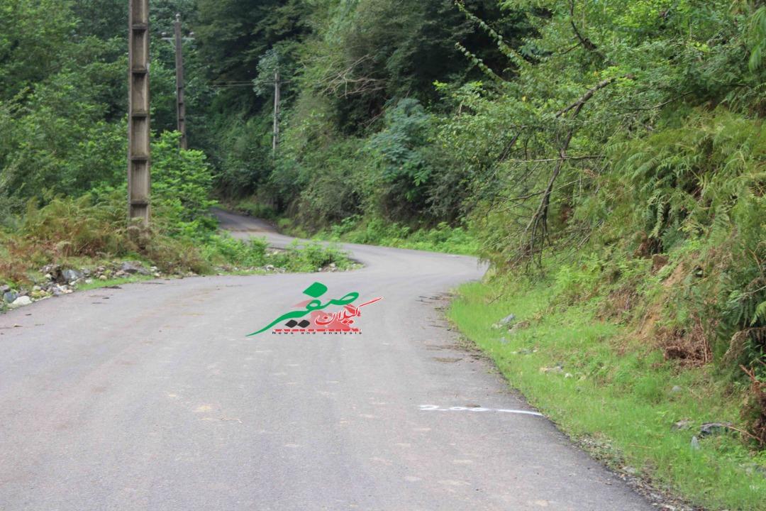 محور پونل به خلخال در گیلان مسدود شد | تردد عادی در محورهای اصلی استان گیلان