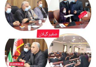 """گزارش مراسم سالانه گرامیداشت روز """"خبرنگار"""" و تقدیر از فعالان رسانه در شهرستان صومعه سرا"""