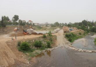 بازدید مسئولان تراز اول گیلان از روند ساخت و تکمیل سد لاستیکی خالکایی ماسال