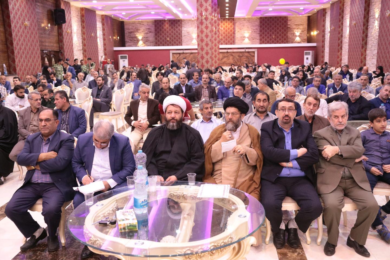 جشن گلریزان زندانیان ۴شهرستان غرب گیلان در فومن+تصاویر