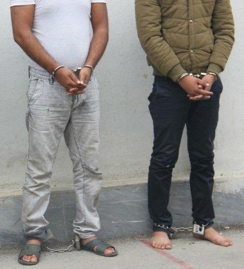 دستگیری سارقان با ۱۹ فقره سرقت در فومن