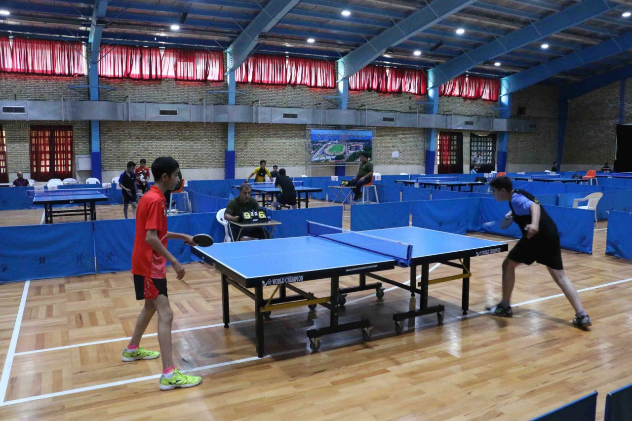 درخشش تیم تنیس روی میز قم در مسابقات دانش آموزی کشور در رامسر
