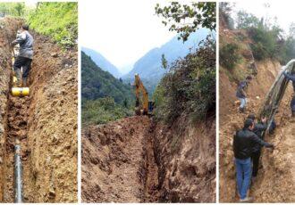 عملیات گازرسانی به ۲۴ روستای شهرستان تالش در حال اجراست