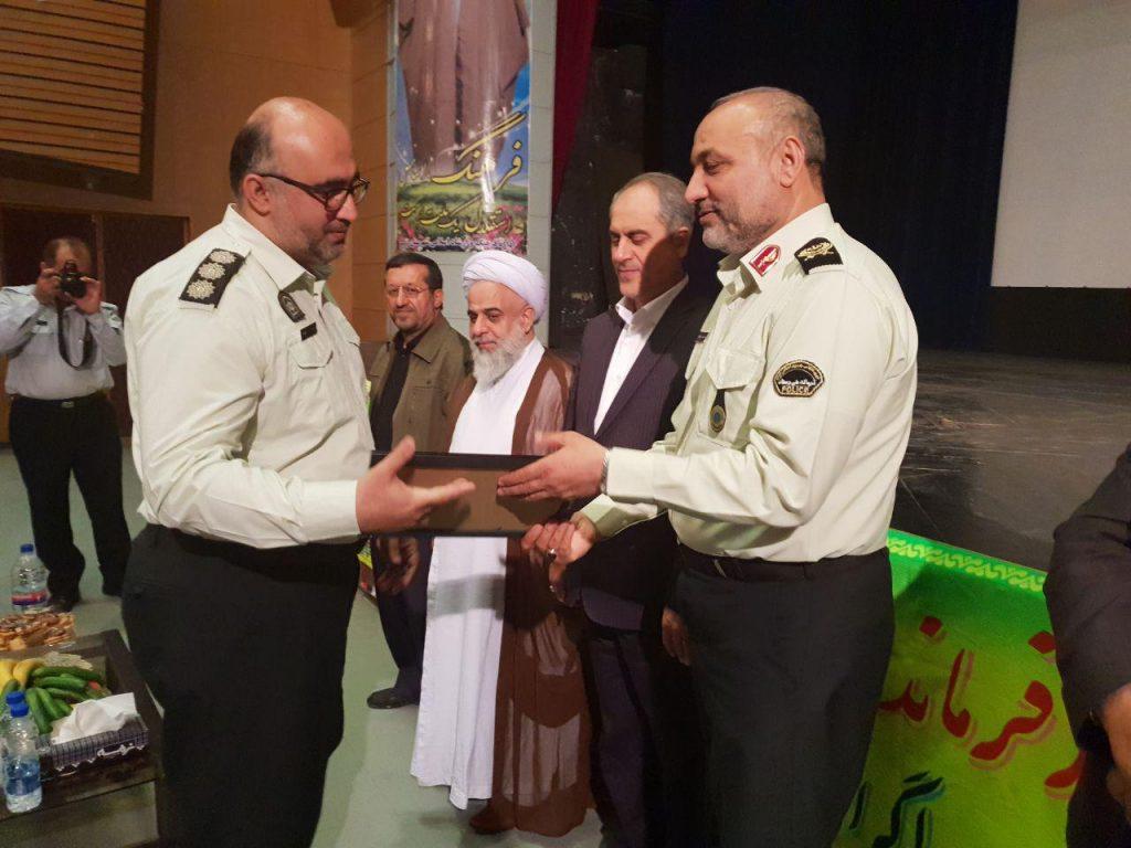فرمانده جدید نیروی انتطامی شهرستان رودسر معرفی شد.