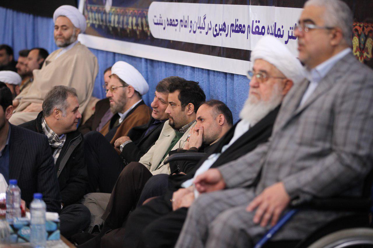 ترافیک چهره ها و مدیران در مراسم چهلم آیت الله رفسنجانی