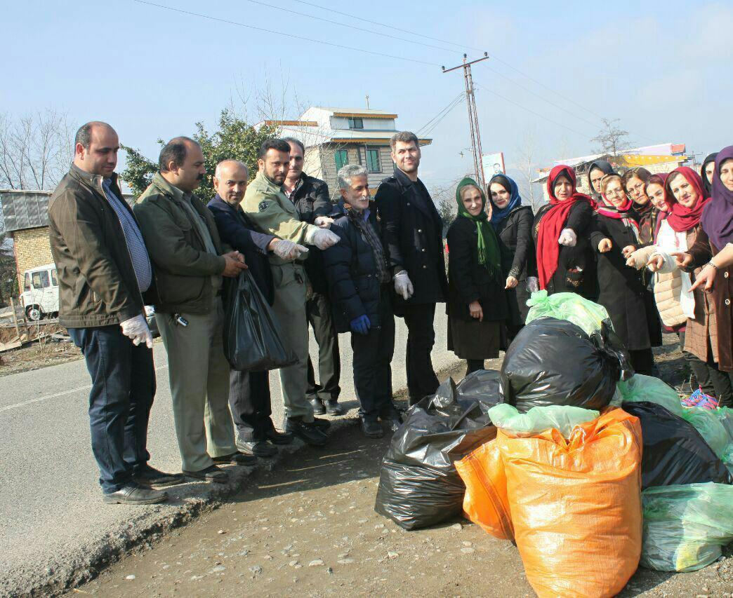 تاوان سنگین خیانت به طبیعت  را با ریختن زباله باید خودمان  بپردازیم