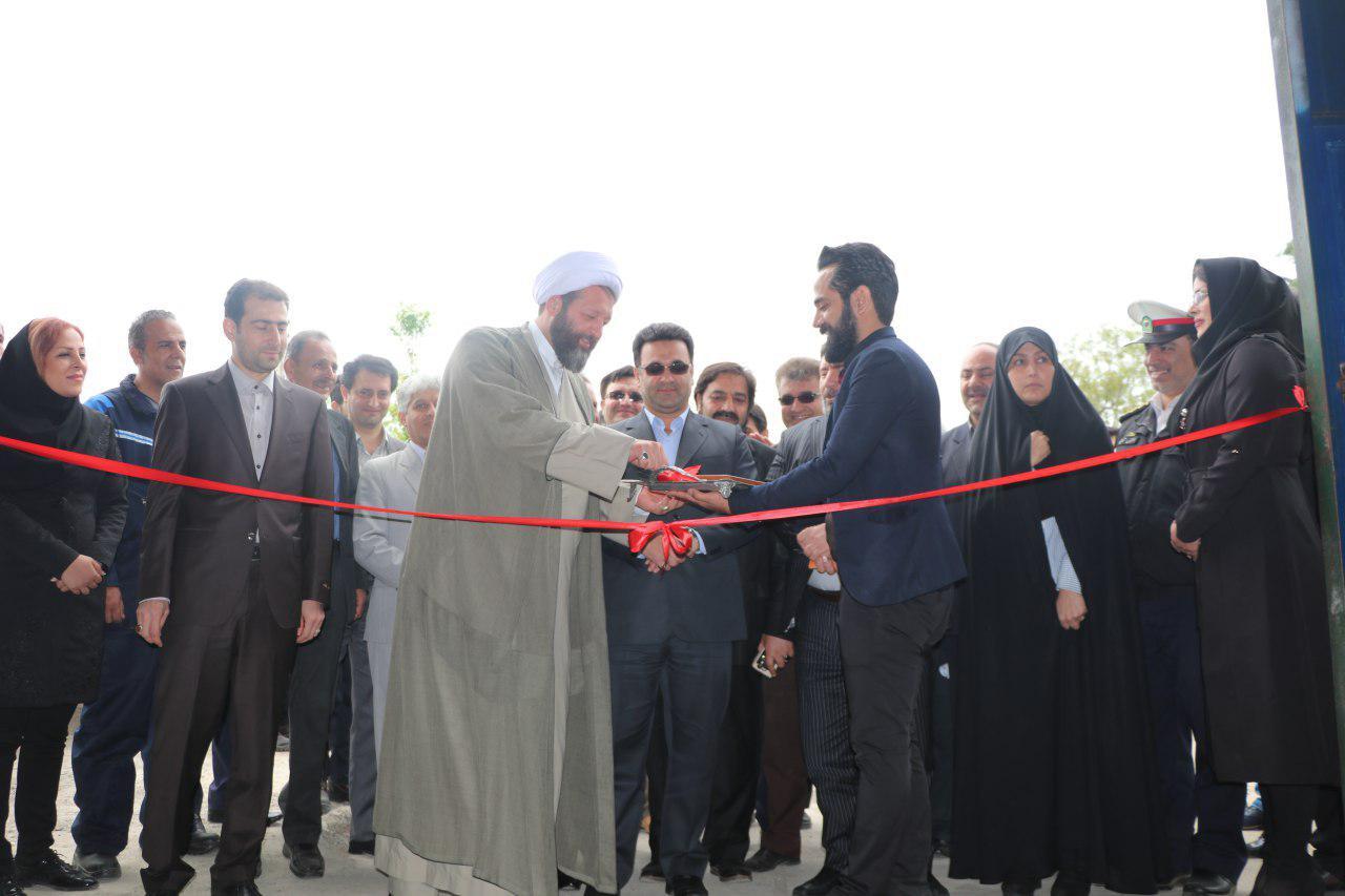 اولین مرکز خدمات فنی و بازرسی خودروهای دوگانه سوز گیلان درشفت افتتاح شد