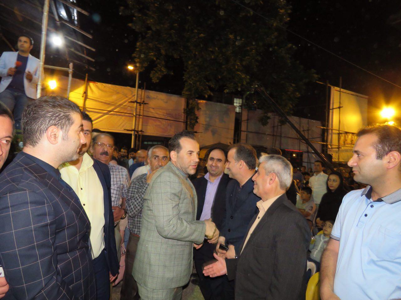 گزارش تصویری اجتماع حامیان مجید رجبی کاندیدای شورای کلان شهر رشت
