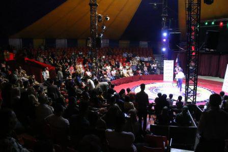 سیرک بین المللی آفتاب افتتاح شد/فعالیت سیرک آفتاب با هدف حفاظت از محیط زیست