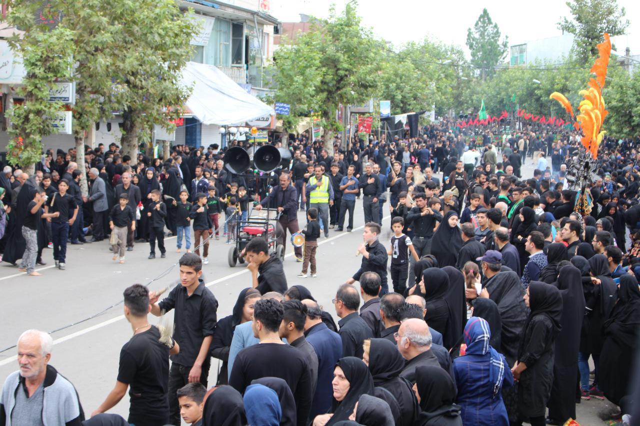 عزاداری عاشورای حسینی در شهرستان شفت