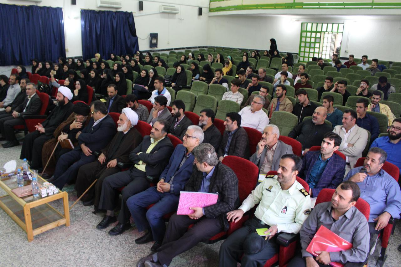 برگزاری مراسم معارفه دانشجویان جدید الورود دانشگاه پیام نور  فومن با حضور مسئولان